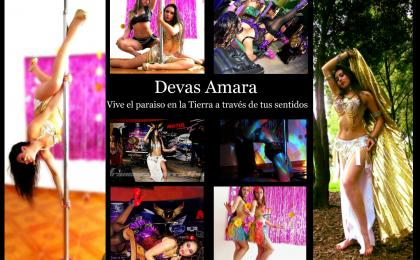 danza arabe, pole dance, burlesque, shows y eventos empresariales