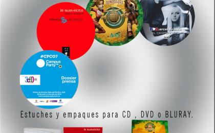 impresion sobre CD/DVD