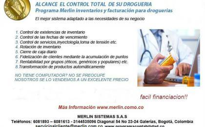 programa contable, contabilidad, droguerias, software contable