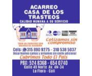 ACARREO CASA DE LOS TRASTEOS