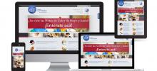 Sitios web, Diseño para móviles, Redes Sociales